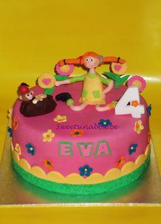 Sweetsinabox.be Pipi Longstocking cake