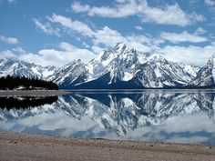 Grand Teton National Park, right here in the USA.  I've heard stories.  They say even this breathtaking photo doesn't quite do it justice.  I believe them.  And I'm dying to witness it for myself.