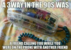 Ha i would always have 3 ways