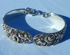 Kirk Son Sterling Repousse Spoon Bracelet from Table Spoons | eBay