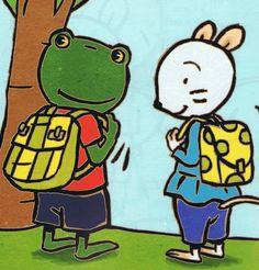 Départ à l'école