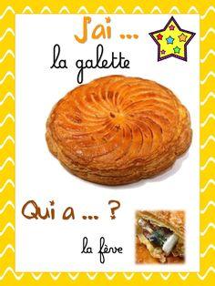 J'ai... Qui a... galette (LaCatalane).pdf - Fichiers partagés - Acrobat.com Cata, Pdf, French, Muffins, Printables, Dessert, Period, Muffin, French People