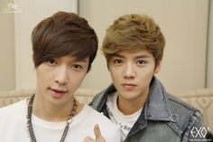 EXO Lay & Luhan