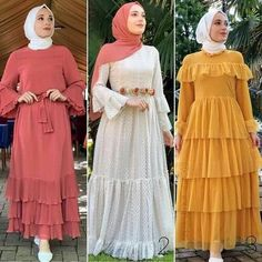 Hijab fashion looks – Just Trendy Girls Woman's hijab fashion is about looking good and feeling great; the hijab collection includes stylish items like maxi dresses, cardigans, tunics, and every woman Hijab Style Dress, Modest Fashion Hijab, Modern Hijab Fashion, Islamic Fashion, Indian Fashion Dresses, Abaya Fashion, Muslim Fashion, Fashion Outfits, Mode Abaya