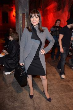 Glam Guest Jeanne Becker at Greta Constantine's Spring 2013 Show