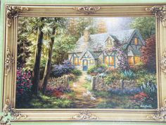 """The Art of Nicky Boehme 1000 piece Puzzle Nib! """" A Country Gem! Brand new!  $10.00  I love to do jigsaw puzzles, the harder the better."""