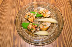 Oosterscheldt lobster and lobster tartare, cress, parsnip and smoked butter. @ FG Restaurant Rotterdam by chef François Geurds. | Photography by Adriaan Van Looy