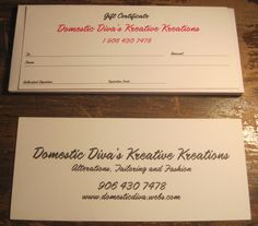 Give the gift of customization this Christmas, or any time of year.  Gift certificates can be made in any amount. Good for alterations or custom clothing/gifts.