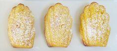 Lemon Madeleines (from Michel Roux's Le Gavroche cookbook)