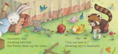 From: RED PANDA'S CANDY APPLES by Ruth Paul.