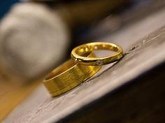 Goldfinger Rings Workshop in Hatton Garden London Bespoke rings
