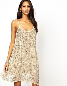 True Decadence Embellished Cami Slip Dress at HelloShoppers