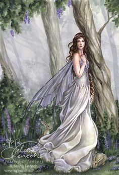 White Faerie...#fantasy #magic #art #imagination #fairy #faerie #fae