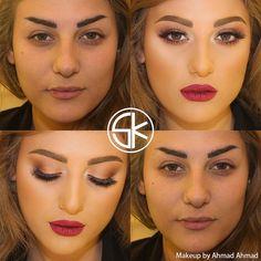 #samerkhouzami #maisonsamerkhouzami by @ahmadahmadartist @maison.samer.khouzami #makeupartist #skteam #creative #team