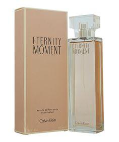 Another great find on #zulily! Calvin Klein Eternity Moment 3.4-Oz. Eau de Parfum - Women by Calvin Klein #zulilyfinds