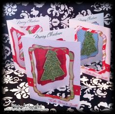 Window Cards made with the #CTMH Art Philosophy #Cricut Cartridge & Holiday Wishes {by Mandy Leahy}