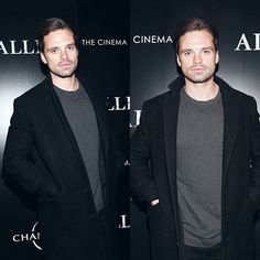 Special screening of 'Allied', NYC 15.11.16 - #sebastianstan - visit to grab an unforgettable cool 3D Super Hero T-Shirt!