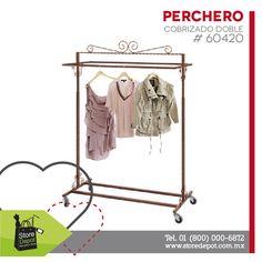 ¡Ideal para exhibir tus prendas en tienda o negocio! Cotízalo en #StoreDepot