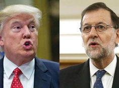 Trump invitó a Rajoy a la Casa Blanca