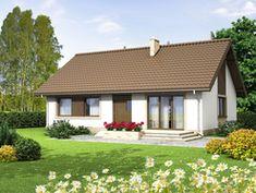 DOM.PL™ - Projekt domu ARN Mokka 2 CE - DOM RS1-78 - gotowy koszt budowy Gazebo, Pergola, Outdoor Structures, Cabin, House Styles, Outdoor Decor, Home Decor, Cottage, Little Cottages