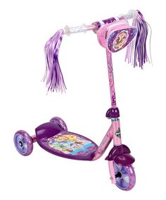 Take a look at this Pink & Purple Disney Princess Scooter by Disney on #zulily today! Em already asked for this .