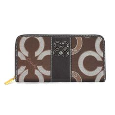 I LOVE this. I just bought Coach Waverly Flower Charm Large Coffee Wallets EEI like that not long ago.