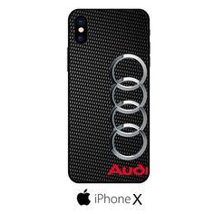Audi Carbon Fiber IPHONE X