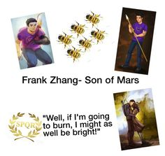 """Frank Zhang"" by harry-potter-fan-4-life ❤ liked on Polyvore featuring art"