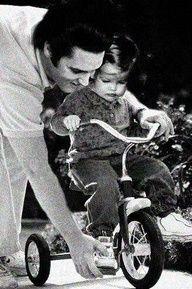 Elvis and Lisa Marie, elvis birthday jan,8.