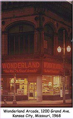Wonderland Arcade.