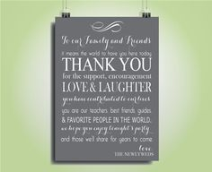 INSANT DOWNLOAD  5x7 Wedding Thank You Card by SimpleandStunning2, $6.00