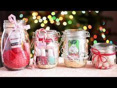 Подарок в банке | Идеи подарков на Новый год - часть 2! - YouTube
