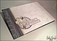 Beky Scrap: Libro de firmas boda de Pilar y Javier