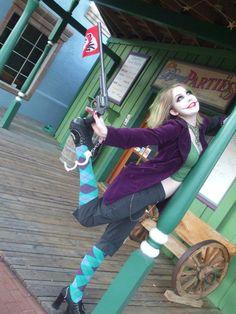 Stunning Lady Joker cosplay.