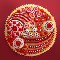 Incredible beautiful ornate cake designs by Cressida Bell, textile designer