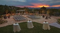 Look at that view! I want my wedding ceremony in Santa Fe.