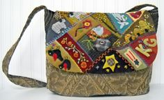 Day Tripper Purse and Travel Bag pattern. $10.00, via Etsy.