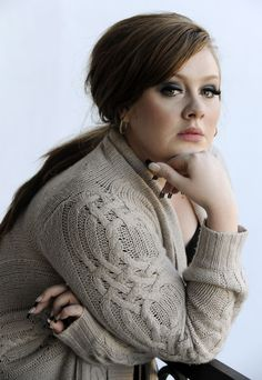 Adele...distinctive voice, distinctively gorgeous.