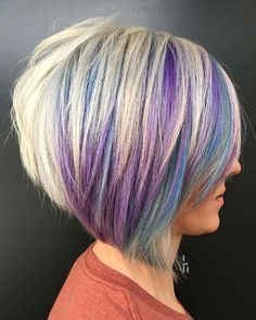 Bob Hairstyles For Fine Hair, Hairstyles Over 50, Short Hairstyles For Women, Trendy Hairstyles, Hairstyles Haircuts, Bob Haircuts, Medium Hairstyles, Braided Hairstyles, Stacked Bob Hairstyles
