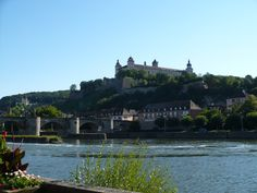 Wurzberg, Germany (2008):  Scenic Bavarian city by the river.