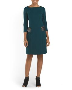 Metropolitan Ponte Knit Dress