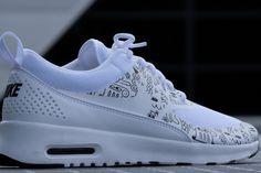Nike WMNS Air Max Thea Print White White/ Black - 599408-103