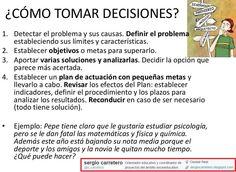 ¿Cómo tomar decisiones y elegir estudios?