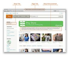 Etsy's Help Answers for Improving SEO - great tips for tweaking your shop.