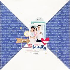 Very cute layout by jessy christopher...must scrap lift this!!
