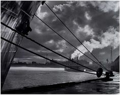 New Orleans Waterfront, by Frederick B. Scheel 1957