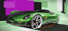 New Jaguar XKSS concept 2015