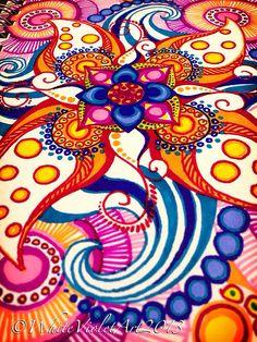 Insomnia Mandala ;) | by White Violet Art