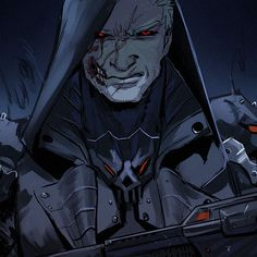 Reaper!Morrison probably an antihero, maybe, idn.