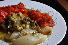 receita espanhola, acompanhamento, vegetais, assado, forno